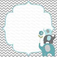 Baby Shower Invitation Background Boy