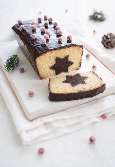 Chocolate Espresso & Vanilla Hazelnut Surprise Cake with Chocolate Espresso Glaze