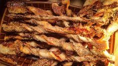 Lækre snacks - breadsticks med sesam