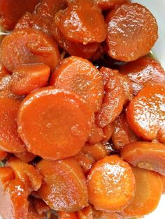 Crock-Pot Brown Sugar Candied Carrots - Cooking with Crock-Pots - Crockpot Recipes Carrot Recipes, Veggie Recipes, Crockpot Recipes, Cooking Recipes, Slow Cooked Meals, Crock Pot Cooking, Crock Pots, Crock Pot Candy, Crockpot Carrots