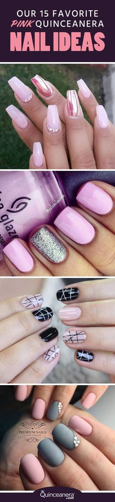 With your breathtaking dress, you'll want your nails to be nothing short from amazing. - See more at: http://www.quinceanera.com/make-up/15-favorite-pink-quinceanera-nail-ideas/#sthash.t9bzNmmf.dpuf