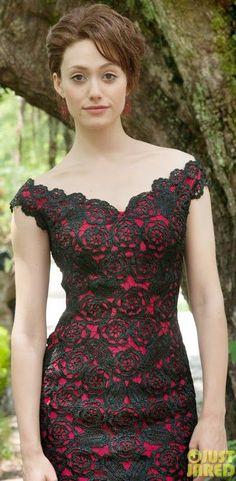 Party Dresses/ Vestido de festa/ Abiti da sera #crochet #uncinetto #emmyrossum: