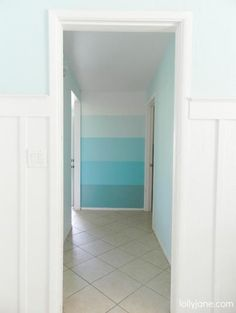 Ombre walls--one idea for Emmy