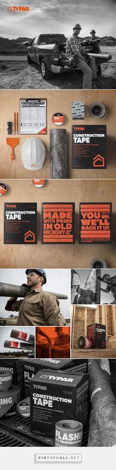 Typar Construction product packaging design by Miller Brooks - http://www.packagingoftheworld.com/2017/08/typar.html
