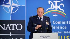 """The US European Command (EUCOM) and NATO are prepared to """"fight and win"""" against Russia """"if necessary,"""" US Supreme Allied Commander Europe General Philip Breedlove said on Thursday. WASHINGTON (Sputnik)— Russia has repeatedly warned that NATO's attempts toexpand onits borders, aswell asmore recently amass troops and equipment, constitute provocative acts that are contrary toprevious agreements …"""