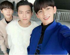 #MyName-Seyong instagram with chaejin & junQ