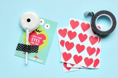 diy valentines eye for you!