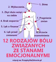 PrzepisyNaZdrowie.pl-bole-a-emocje-12-rodzajow-bolu-zwiazanych-z-emocjami Interesting Information, Healthy Mind, Self Development, Good To Know, Natural Health, Fun Facts, Health Advice, Life Hacks, Health Fitness