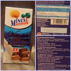 Minus L Laktosefreie Vollmilchschokolade aus der Degustabox November 2014.