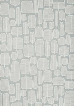 Wallpaper for window wall: Miss Print's Little Trees (london fog). Comes in several other colors.