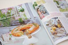 """Ich freue mich sehr darüber. In der neuen Ausgabe der Zeitschrift Wohnen & Garten """"Landhaus"""" wurde auf 3 Seiten ein lovely-Artikel über mich veröffentlicht. Danke Wohnen & Garten und der Redaktorin Maria Barner. make life lovely, AnnaLISA www.lisalibelle.com"""