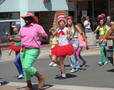 Must have Dr. Seuss characters in the parade!