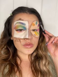Creative Look Creative Makeup, Makeup Videos, Hair Makeup, Photo And Video, Face, Instagram, Make Up, Party Hairstyles, The Face