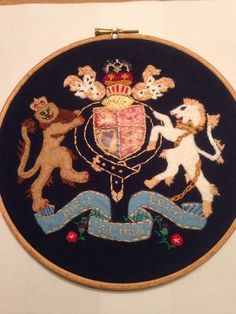 Coat of Arms Hoop by puzzled-penguin