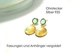 Ohrstecker+mint+von+DeineSchmuckFreundin+-+Schmuck+und+Accessoires+auf+DaWanda.com