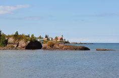 Eagle Harbor Lighthouse, Lake Superior, Upper Peninsula