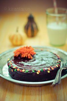 Flourless Chocolate Torte! #chocolate #dessert #cake