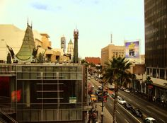 Exploring Hollywood Blvd.