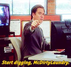 Start digging, McDirtyLaundry