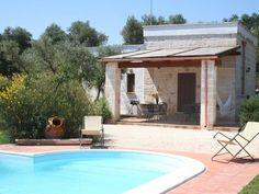 Sfeervolle vakantiehuizen met een privé-zwembad, bij de trullivallei in Puglia