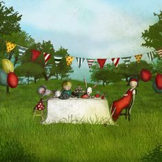 Birthday party by majalin on Etsy, kr139.00