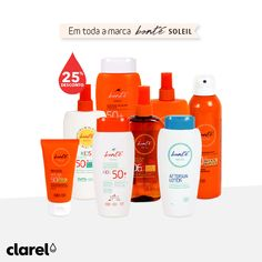 O sol já brilha! Está na hora de começar a proteger a sua pele e a prepará-la para o verão. Temos descontos em toda a marca Bonté Soleil: https://www.clarel.pt/flipbooks/24marc6abril2016/index.html