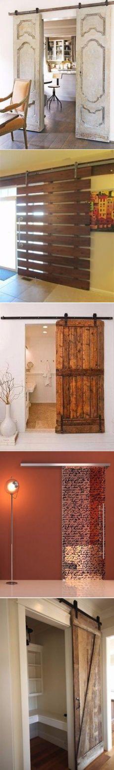 Drzwi przesuwne - Projektowanie wnętrz |  Idee domu |  Lodgers