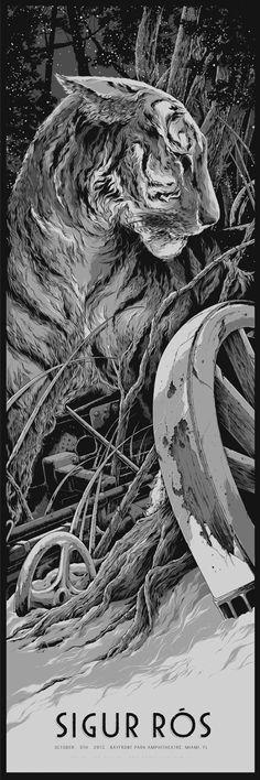 Sigur Ros (2013 Miami, FL) by Ken Taylor