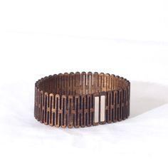 Flex Bracelet - Scallop Thin — s k i v v i e ' s laser cut goodness Laser Cutter Ideas, Laser Cutter Projects, Lazer Cut Wood, Wooden Bag, Laser Cut Jewelry, Wood Bracelet, 3d Laser, Laser Printer, Mineral Oil