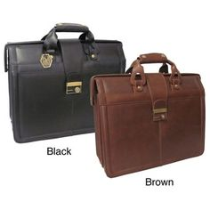@Overstock - Functional and sophisticated, this rich leather executive briefcase lets you carry your work supplies in style. The sturdy bag is constructed with a doctor bag-style opening for easy access and features a zippered center pocket for document storage.http://www.overstock.com/Luggage-Bags/Amerileather-Leather-Legal-Executive-Briefcase/5042695/product.html?CID=214117 $96.95