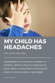 When do you seek a neurologist for your child's headaches? Find the answer on the blog.