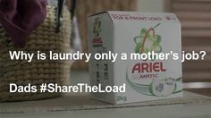 Ariel India's 2016 campaign with english subtitles. Client: P&G India Brand: Ariel Creative Agency: BBDO India Best Marketing Campaigns, Ted Talks Video, Procter And Gamble, Wise Up, Dads, Household Chores, Close To My Heart, Teaching Tools, Big Picture