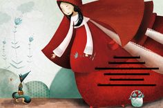 Big Red Riding Hood by Leila Brient