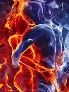 Soulmates: Soul Family, Soul Groups and Twin Flames : . Illustration Art Dessin, Illustrations, Anima E Animus, Twin Flame Love, Twin Flames, Soul Family, Foto Gif, Lost Love Spells, Flame Art
