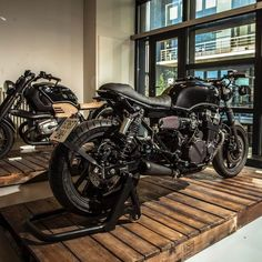 """1,112 Likes, 9 Comments - Roa Motorcycles Madrid (SPAIN) (@roamotorcycles) on Instagram: """"Our @roamotorcycles studio with this two toys! Which of these two would you choose for a ride??…"""""""