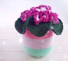 Handmade gift for March Unique gift – crocheted plant. Handmade decorative flowers can make great gift for any occasion for mom or the special person in your life # handmade gifts videos Handmade flower gift Handmade Toys, Etsy Handmade, Handmade Ideas, Mother Birthday Gifts, Daughter Birthday, 7th Anniversary Gifts, Knitting Accessories, Handmade Decorations, Handmade Flowers