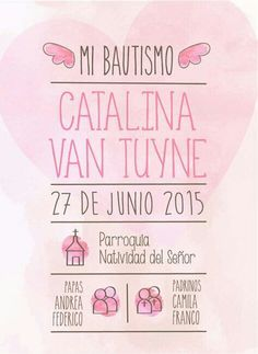 Tarjeta Bautismo Baptism Invitations, Party Invitations, Baptism Cookies, Baby Event, Baby Girl Baptism, Ideas Para Fiestas, First Communion, Scrapbook Albums, Holidays And Events