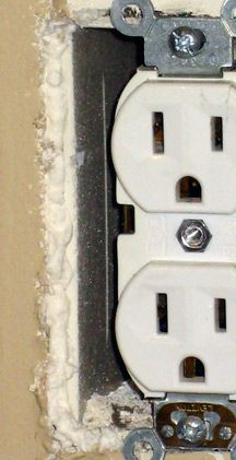 Seal Air Leaks | Insulate Electrical Outlets - One Project Closer