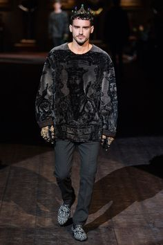Dolce  Gabbana Autumn 2014. Shop the collection at MATCHESFASHION.COM #MATCHESFASHION #MATCHESMAN