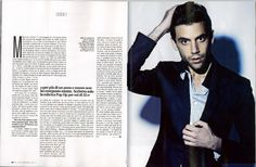 Mika interview - XL Repubblica - Italian - September 2012 - page 1 of 2