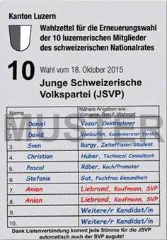 Auf seinem fiktiven Wahlzettel hat Liebrand (JSVP) Name und Vorname jeweils in die falsche Spalte geschrieben. Dabei gibt es auf den offiziellen Listen gar keine separaten Spalten für diese Angaben.