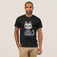 Cat vampire Halloween Funny Halloween Gift Shirt #halloween #holiday #creepyclothing #fashion #mensclothing