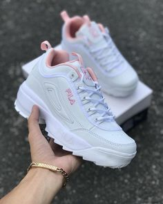 women s Lady s shoes FILA sneakers casuals women s Lady s shoes FILA sneakers casuals Cute Sneakers, Sneakers Mode, Girls Sneakers, Girls Shoes, Sneakers Workout, Shoes Women, Sock Shoes, Vans Shoes, Shoe Boots