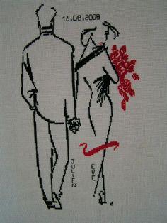 """Ty Wilson """"Les mariés"""", personnalisé pour l'occasion."""
