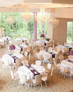 Ashton Gardens Purple Wedding www.ashtongardens.com