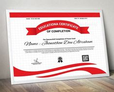 This multipurpose certificate was designed by Template Catalog Team and is sold exclusively on TemplatesCatalog Letterhead Template, Brochure Template, Free Portfolio Template, Certificate Design Template, Custom Design, Logo Design, Certificate Of Completion, Stationary Design, Education