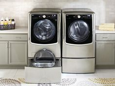 A Multitasking Washing Machine Can Handle Two Separate Loads at the Same Time   Architectural Digest
