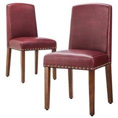 Threshold™ Lennox Nailhead Dining Chair - Set of 2