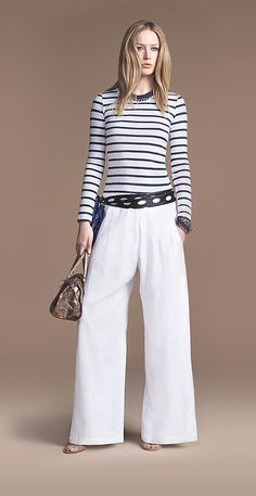 Wide pants, Pants and Belt on Pinterest