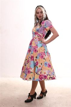 Robe Swing, Swing Dress, Collection, Casual, Clothes, Dresses, Fashion, Vintage Dress, Dress Ideas